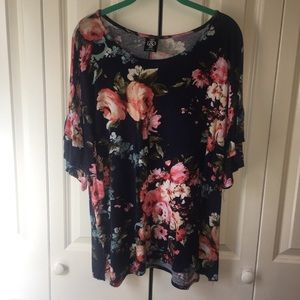 Agnes and Dora floral blouse